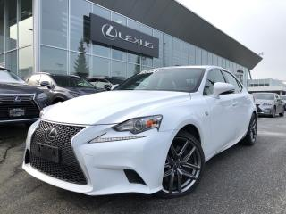 Used 2016 Lexus IS 300 AWD Fsport #3, NO Accidents, Local, ONE Owner for sale in North Vancouver, BC