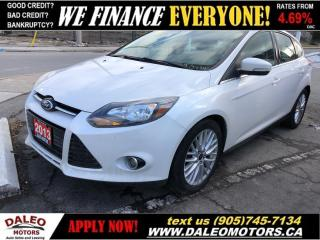 Used 2013 Ford Focus Titanium|LEATHER|BACKUP CAM|MOONROOF for sale in Hamilton, ON