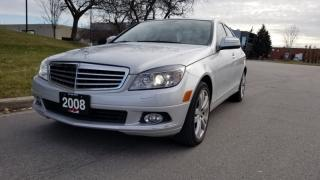 Used 2008 Mercedes-Benz C-Class C300 4Matic | 1 Owner |Luxury Package |Low Km for sale in Vaughan, ON