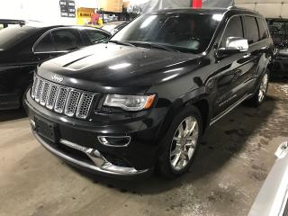 Used 2014 Jeep Grand Cherokee 4WD 4dr Summit | EcoDiesel | Navi | Pano-Roof | Sport Seats for sale in Vaughan, ON