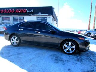 Used 2012 Acura TSX PREMIUM AUTOMATIC BLUETOOTH CERTIFIED 2YR WARRANTY for sale in Milton, ON