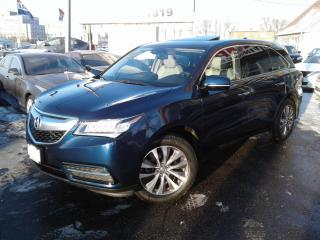 Used 2015 Acura MDX 7 Passengers Tech Navigation/Sunroof/Leather/Camera for sale in Mississauga, ON