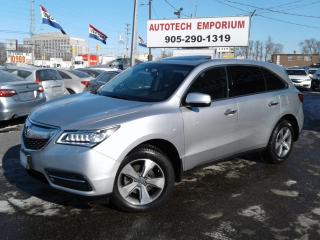 Used 2015 Acura MDX 7 Passengers Sunroof/Camera/Btooth/Keyless &ABS* for sale in Mississauga, ON