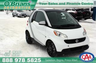 Used 2014 Smart fortwo Pure w/Heated Seats for sale in Saskatoon, SK