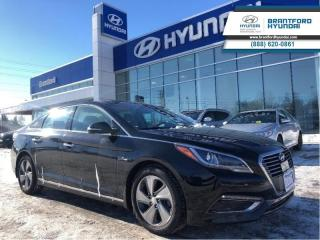 Used 2016 Hyundai Sonata Hybrid LEATHER | NAVIGATION | PANORAMIC SUNROOF | TRADE-IN  - $138.45 B/W for sale in Brantford, ON