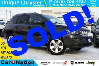 Used 2015 Jeep Compass NORTH ALL-SEASON| 4X4| REAR CAM| BLUETOOTH for sale in Burlington, ON