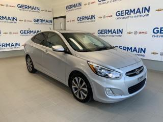 Used 2017 Hyundai Accent GLS- TOIT OUVRANT- BLUETOOTH- MAGS for sale in St-Raymond, QC