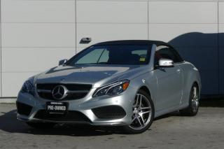 Used 2016 Mercedes-Benz E-Class E400 Cabriolet *Low Kms*AMG* for sale in Vancouver, BC