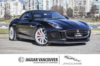 Used 2016 Jaguar F-Type Convertible S at *Certified!  Local!  Accident Free! for sale in Vancouver, BC