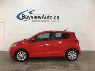 Used 2016 Chevrolet Spark 1LT CVT - ONSTAR! REVERSE CAM! SUNROOF! BLUETOOTH! PWR GROUP! for sale in Belleville, ON