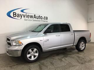 Used 2019 RAM 1500 Classic SLT - ONLY 4,000KMS! 4X4! 8SPD AUTO! U-CONNECT! REVERSE CAM! ALLOYS! for sale in Belleville, ON