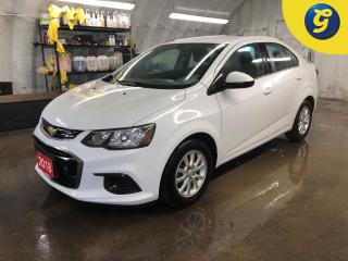 Used 2018 Chevrolet Sonic LT * Chevy my link touch screen *  4G LTE hotspot WIFI * Remote start * On star * Hands free steering wheel controls * Phone connect * Voice recogniti for sale in Cambridge, ON