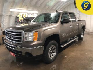 Used 2013 GMC Sierra 1500 Crew Cab * On Star * 4x4 * GM Bed liner * Lockable tailgate  * Step bars *  Tow hitch w/ 6 pin connect * Tow hooks * Trailer assist * Trailer assi for sale in Cambridge, ON
