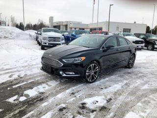 Used 2018 Ford Fusion Titanium for sale in Orangeville, ON