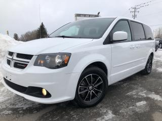 Used 2017 Dodge Grand Caravan GT Leather! Heated Steering, Heated Seats, BackupCam, AUTOSTART, Bluetooth, Pwr Sliding Doors and Pwr S for sale in Kemptville, ON