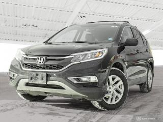 Used 2015 Honda CR-V EX-L Sold Pending Customer Pick Up...Bluetooth, Back Up Camera, AWD, Heated Seats and more! for sale in Waterloo, ON