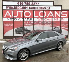 Used 2016 Mercedes-Benz E-Class E300-ALL CREDIT ACCEPTED for sale in Scarborough, ON