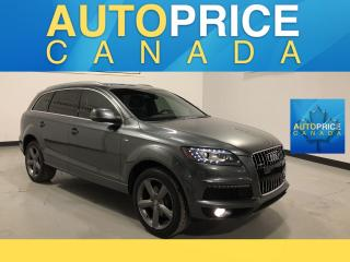 Used 2015 Audi Q7 3.0T Sport S-LINE|NAVI|DVD|PANO|VORSPRUNG EDITION for sale in Mississauga, ON