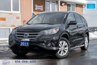 Used 2014 Honda CR-V NAVIGATION EX-L AWD 1 OWNER NO ACCIDENTS CERTIFIED for sale in Bolton, ON