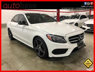 Used 2016 Mercedes-Benz C-Class C300 4MATIC PREMIUM PLUS BURMESTER NIGHT SPORT LED for sale in Vaughan, ON
