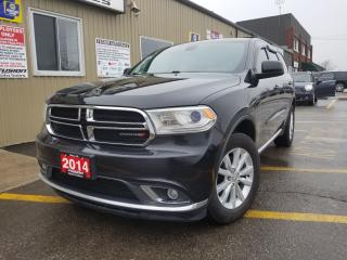 Used 2014 Dodge Durango SXT-AWD-SUNROOF-REVERSE CAMERA-BLUETOOTH for sale in Tilbury, ON