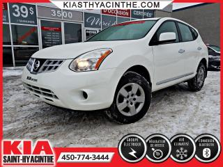 Used 2013 Nissan Rogue S ** GR ÉLECTRIQUE + A/C for sale in St-Hyacinthe, QC