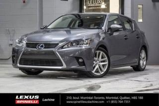 Used 2015 Lexus CT 200h Hybride Hybride for sale in Lachine, QC