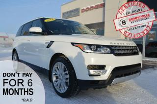 Used 2014 Land Rover Range Rover Sport - AIR RIDE, TERRAIN SYSTEM, NAV, BACK UP CAM for sale in Bonnyville, AB