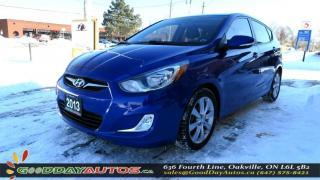 Used 2013 Hyundai Accent GLS for sale in Oakville, ON