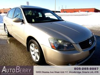 Used 2006 Nissan Altima 2.5L - SL - Leather for sale in Woodbridge, ON
