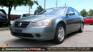 Used 2003 Nissan Altima S|KEYLESS ENTRY|POWER LOCK|POWER WINDOWS| for sale in Oakville, ON