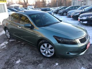 Used 2008 Honda Accord EX-L/ AUTO/ LEATHER/ SUNROOF/ ALLOYS/ FULLY LOADED for sale in Scarborough, ON