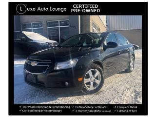 Used 2014 Chevrolet Cruze 2LT LEATHER, SUNROOF, SUPER CLEAN! for sale in Orleans, ON