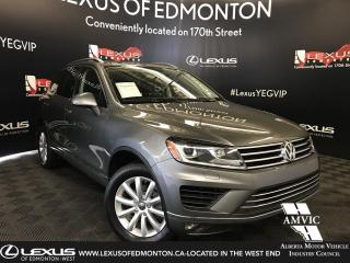 Used 2016 Volkswagen Touareg Sportline for sale in Edmonton, AB
