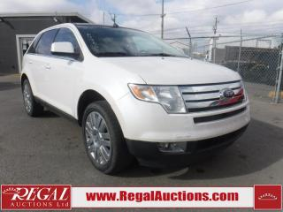 Used 2010 Ford Edge Limited 4D Utility AWD 3.5L for sale in Calgary, AB