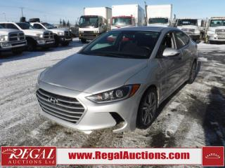 Used 2017 Hyundai Elantra GLS 4D Sedan AT 2.0L for sale in Calgary, AB