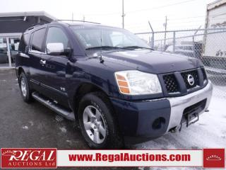 Used 2007 Nissan Armada SE 4D Utility 4WD for sale in Calgary, AB