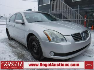 Used 2004 Nissan Maxima SE 4D Sedan for sale in Calgary, AB