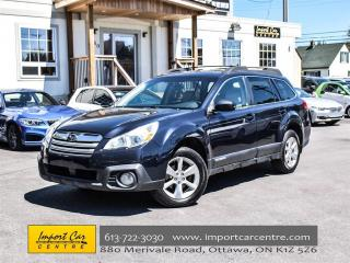 Used 2013 Subaru Outback 2.5i w/Limited Pkg NAV BK CAMERA HEATED SEATS!! for sale in Ottawa, ON