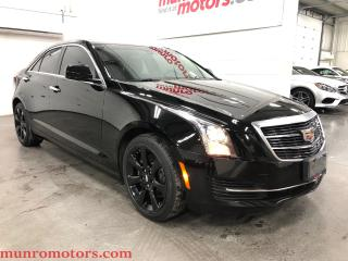 Used 2016 Cadillac ATS AWD Apple Car Play Sunroof Black WHeels for sale in St. George Brant, ON