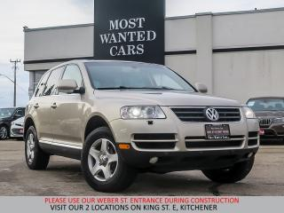 Used 2004 Volkswagen Touareg V6 | YOU CERTIFY YOU SAVE for sale in Kitchener, ON