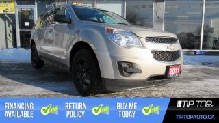 Used 2011 Chevrolet Equinox LS ** Summers & Winter Tires, AWD, Clean Carfax ** for sale in Bowmanville, ON