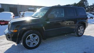 Used 2008 Jeep Patriot Sport 4WD *ONE OWNER* CERTIFIED 2YR WARRANTY SUNROOF ALLOYS CRUISE for sale in Milton, ON