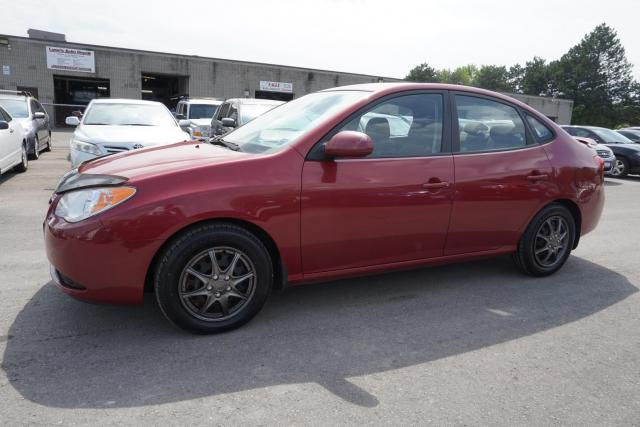 2010 Hyundai Elantra GL SEDAN AUTO CERTIFIED 2YR WARRANTY *NO ACCIDENT* AUX CRUISE HEATED SEATS