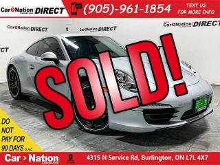 Used 2015 Porsche 911 Carrera 4| AWD| NAVI| WE WANT YOUR TRADE| for sale in Burlington, ON