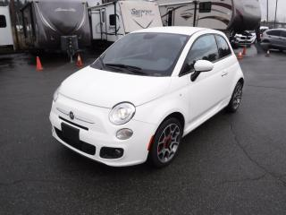 Used 2015 Fiat 500 Sport Hatchback for sale in Burnaby, BC