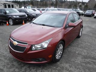 Used 2012 Chevrolet Cruze ECO MANUAL for sale in Burnaby, BC