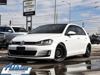 Used 2015 Volkswagen GTI 5-Door Autobahn Summer Tires Incl Navi Roof Leathe for sale in Mississauga, ON