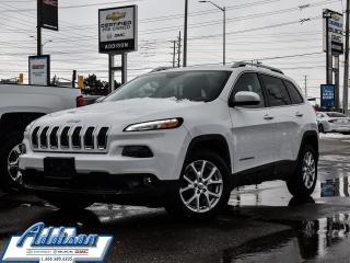 Used 2015 Jeep Cherokee 4x2 North - Bluetooth -  Fog Lamps for sale in Mississauga, ON