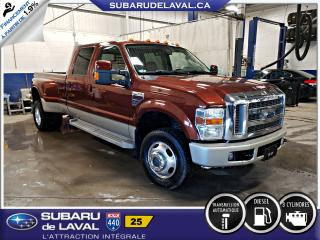 Used 2008 Ford F-350 Lariat KingRanch Roues Double Awd for sale in Laval, QC
